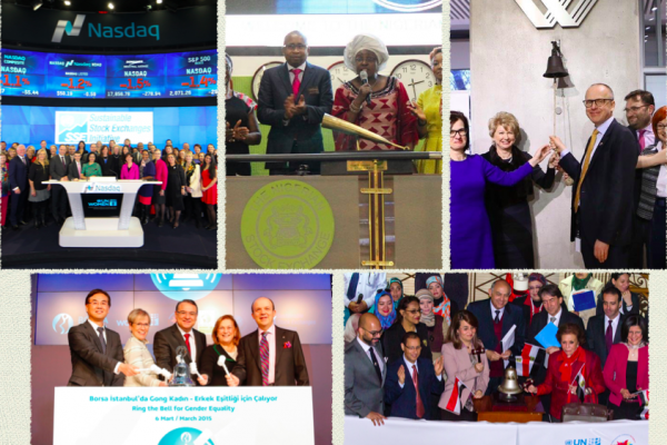 Ring the Bell for gender equality around the world