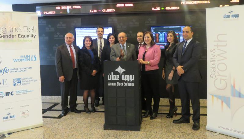 Amman Stock Exchange joins United Nations initiative for sustainable and transparent capital markets and raises awareness for gender equality