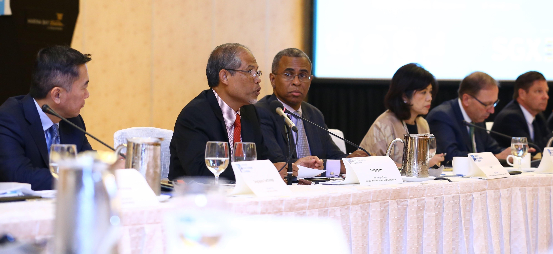 New Global Agenda: Capital market leaders explore market based opportunities