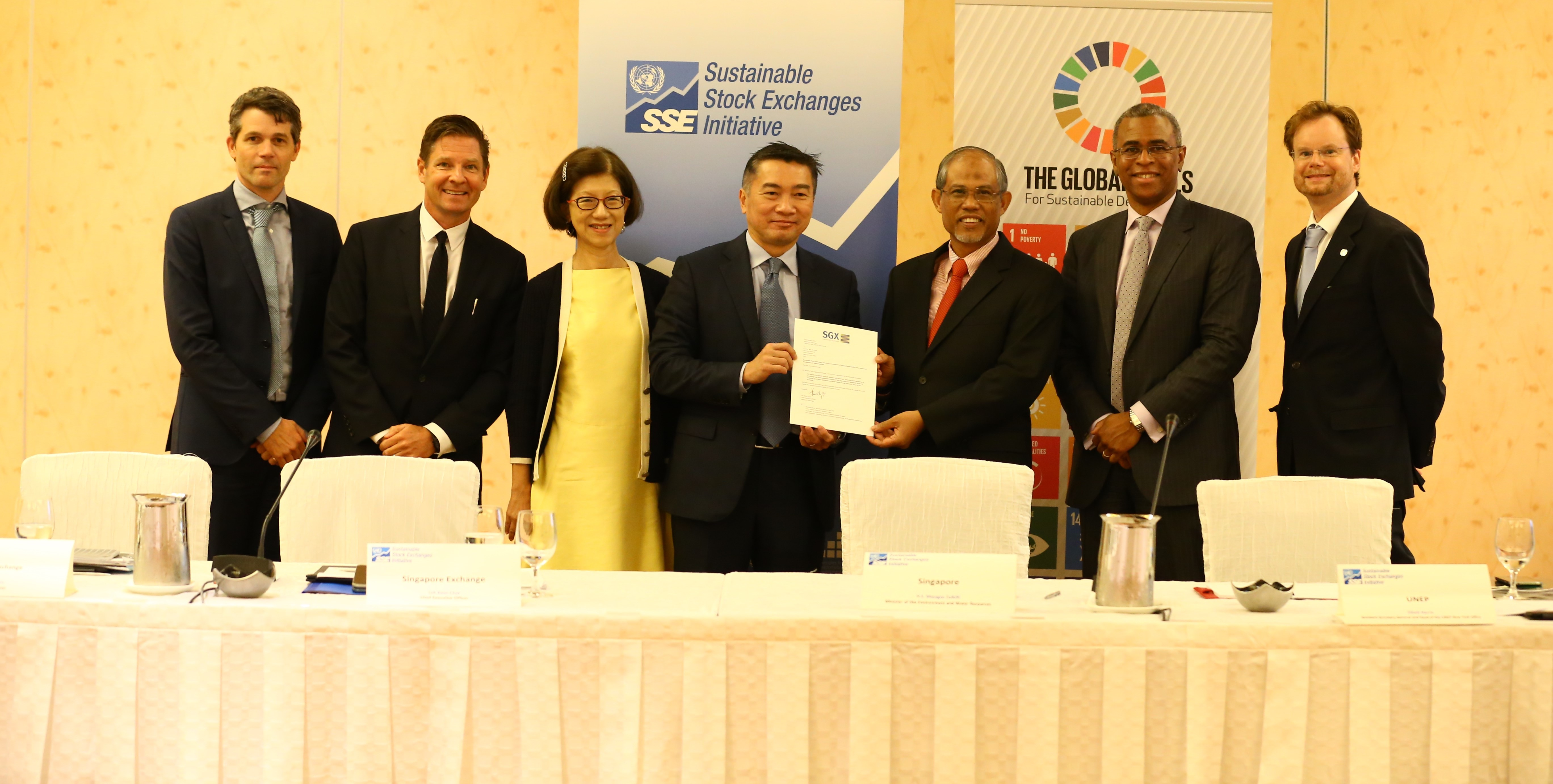 Singapore Exchange furthers its commitment to sustainability by joining United Nations initiative