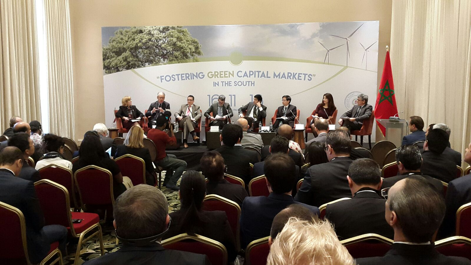 COP22: Capital Market Leaders Gather in Marrakesh to Promote Green Finance