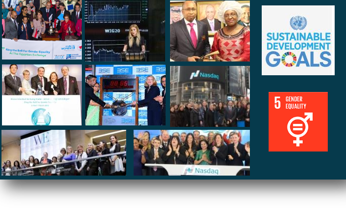 Bells Ring around the world to signal that Gender Equality is fundamental to business