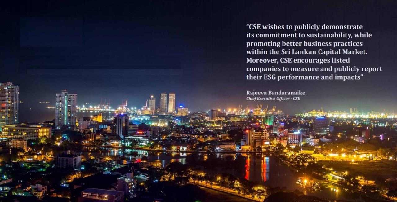 Sri Lankan exchange launches sustainability guidance