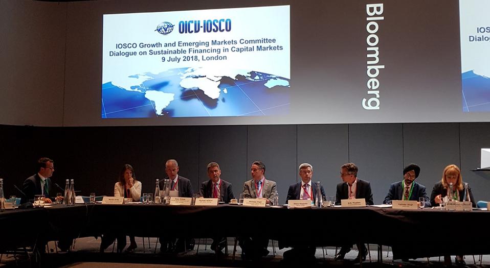 IOSCO having active dialogue on sustainability