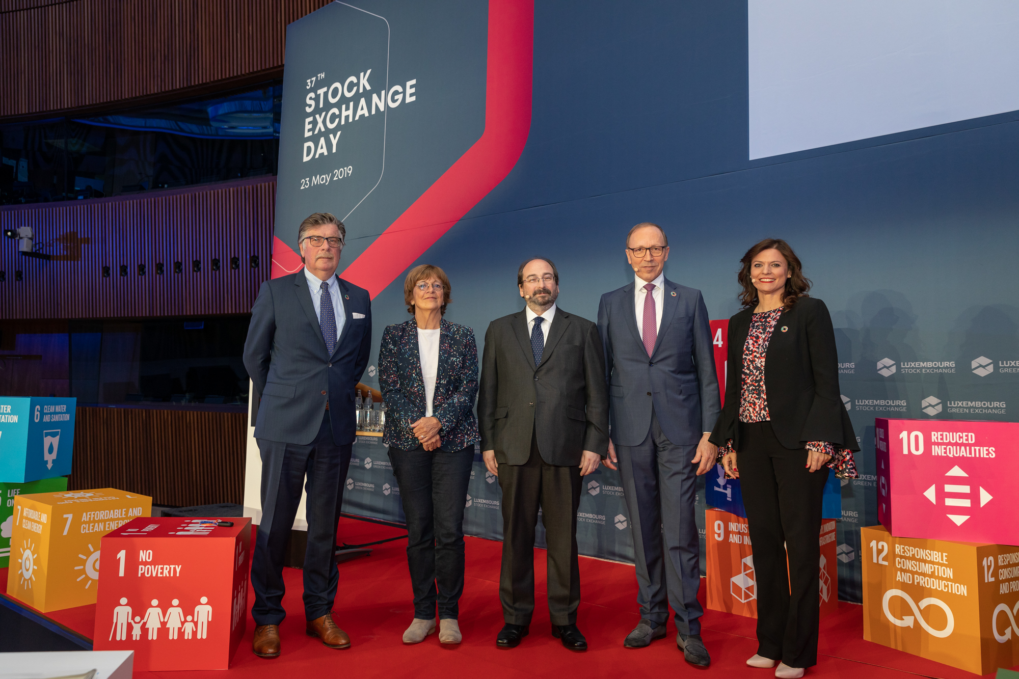 Luxembourg Stock Exchange dedicates annual stock exchange day to the UN SDGs